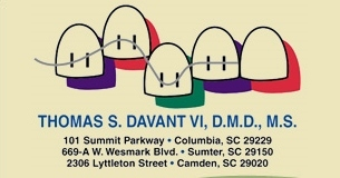 Davant, Thomas S, DDS Davant Orthodontics