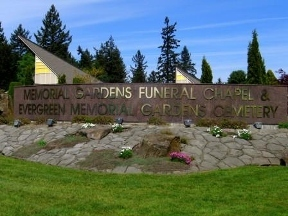 Evergreen Memorial Gardens Cemetery, Funeral Ch... - Vancouver, WA