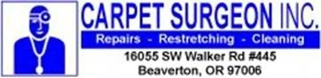 Carpet Surgeon, INC - Beaverton, OR