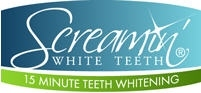 Screamin' White Teeth ~ 15 Minute Teeth Whitening