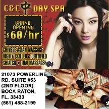 C & C Day Spa - Oriental Massage - Boca Raton, FL