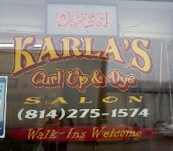 Karla&#039;s Curl Up &amp; Dye Salon