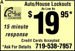 24 Hour Lockouts