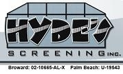 Screen Patio Enclosures by Hydes Screening, Inc.