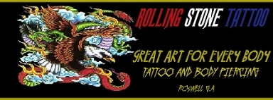 Rolling Stone Tattoo