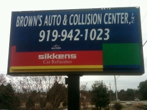 Brown's Auto & Collision Center - Chapel Hill, NC