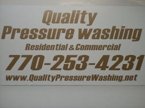Quality Pressure Washing