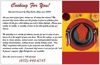 Cooking For You - Humble, TX