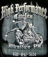 High Performance Cycles LLC - Allentown, PA