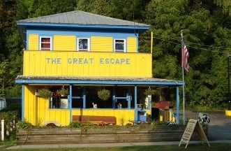 The Great Escape Ice Cream Parlor - Watkins Glen, NY