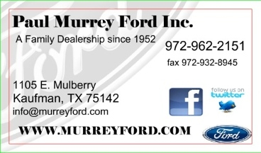 Murrey Paul Ford-Mercury Inc - Kaufman, TX