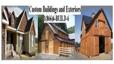 Custom Buildings and Exteriors - Webster, WI