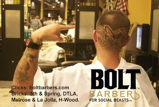 Bolt Barbers Monkey House Barbershop