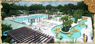 Pirateland Family Camping Resort - Myrtle Beach, SC