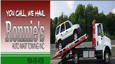 Ronnie's Auto Mart Towing Inc. - Jacksonville, FL
