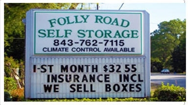 Folly Road Self Storage Charleston