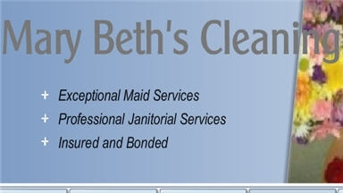 Mary Beth's Cleaning Services - Raleigh, NC