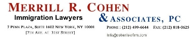 Merrill R. Cohen & Associates - New York, NY