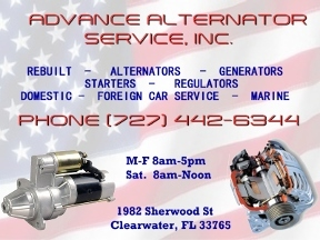 Advance Alternator SVC