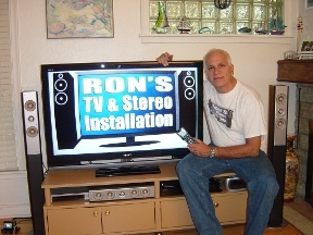 Ron's TV & Stereo Installation