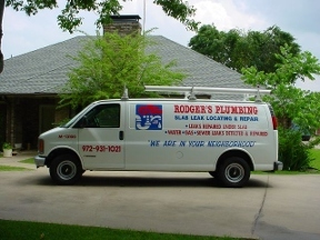 Rodger's Plumbing Leak-Testing & Repair - Dallas, TX
