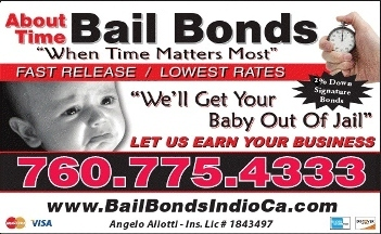 About Time Bail Bonds-Indio,Ca - Indio, CA
