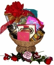 Daughter of A Rose Gift Basket