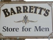 Barrett's Store For Men & Boys