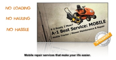 A-1 Best Service MOBILE Tractor & Lawn Mower Repair - Homestead Business Directory
