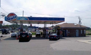 Gaeta Gulf Gas Station, Route 1 South
