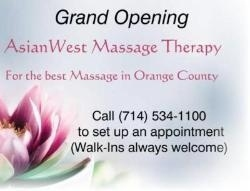 Asianwest Massage Therapy In Garden Grove Ca 92840