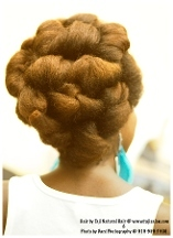 Taji's Natural Hair Styling