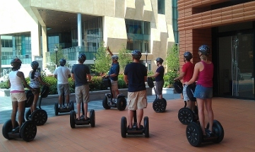 This is a great tour of downtown Charlotte in a relaxed trip via Segway. Our guide Rod did a super job giving us highlights of Charlotte history and fun facts about some of the citizens. He also had some photo stops built in to the tour.5/5(93).
