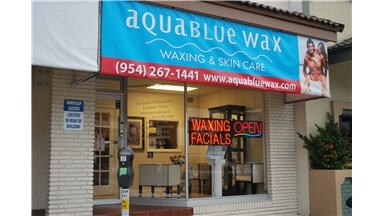Aquablue Wax & Skin Care