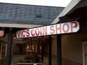 Vic's Coin Shop