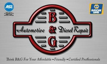 B & G Automotive and Diesel Repair