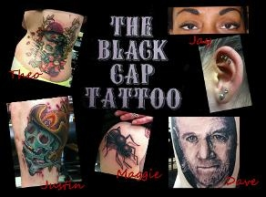 The black cap tattoos piercing permanent makeup in san for Tattoo shops in san marcos tx