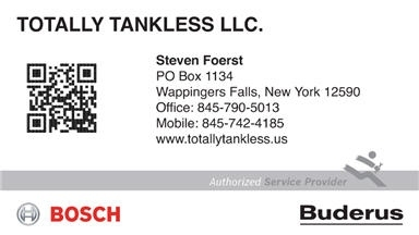 Totally Tankless Water Heaters Only - Poughkeepsie, NY
