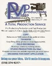 Photo Video Productions Inc.
