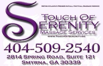 Touch of Serenity Massage Services, LLC