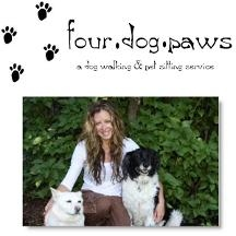 Four Dog Paws