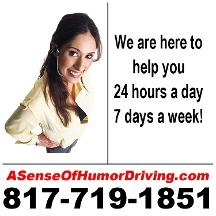 A Sense Of Humor Defensive Driving