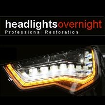 Headlights Overnight - Headlight Restoration