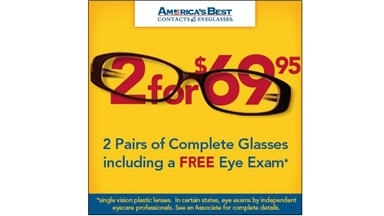 America's Best Contacts & Eyeglasses - Audubon, NJ