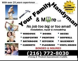 Your Family Handyman & More, LLC