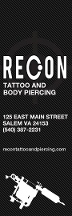 Recon Tattoo & Body Piercing