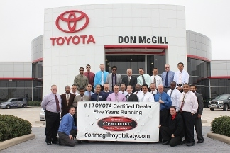 Don Mcgill Toyota of Katy - Houston, TX