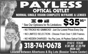 Payless Optical Outlet - Bossier City, LA