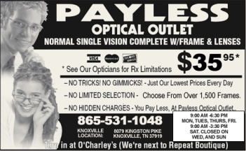 Payless Optical Outlet - Knoxville, TN