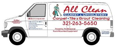 All Clean Carpet & Upholstery Inc